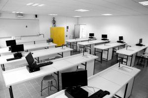 Salle de classe - Lycée Henr Matisse de Trappes